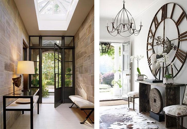 O hall muito mais que a entrada da casa projetos de for Adornos para entrada de casa
