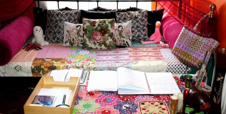 Patchwork como arte na decoração em sua casa