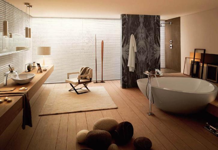 Casas de banho com pormenores de luxo Projetos de ...