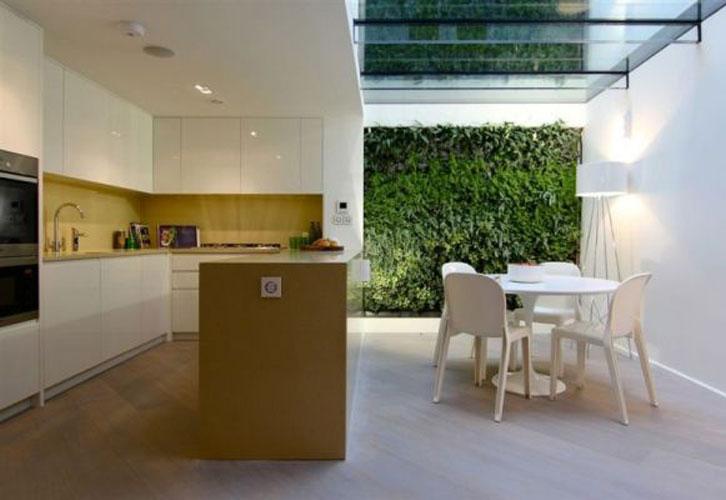 Jardins verticais, a natureza dentro de casa