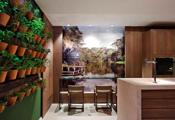 decoracao jardins verticaisJardins verticais, a natureza dentro de