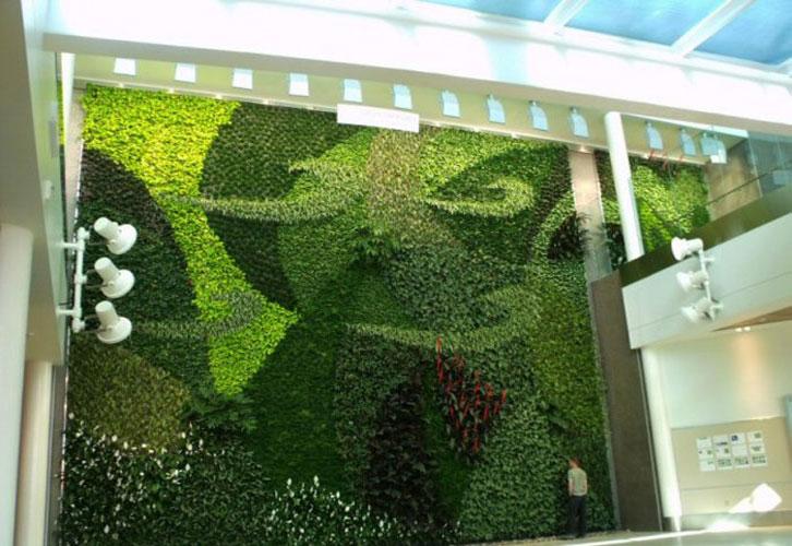 Jardins verticais, a natureza dentro de casa Projetos de decoração