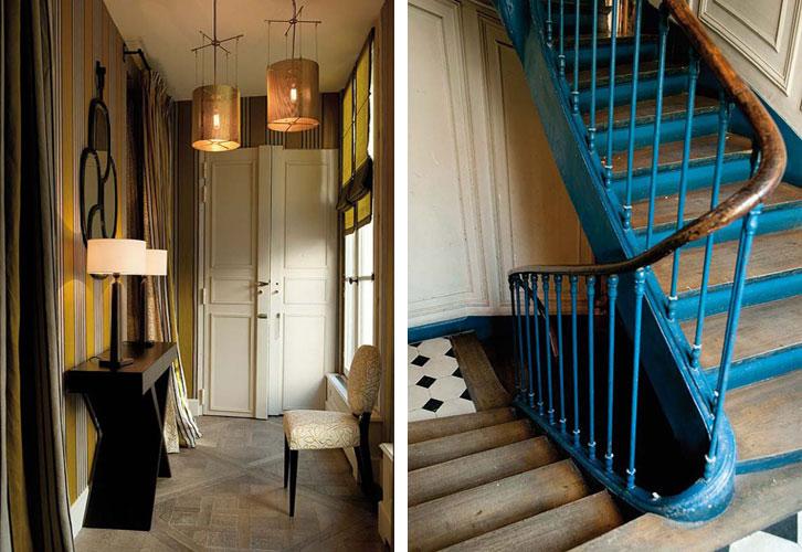 O apartamento de charme de Pierre Frey, o neto