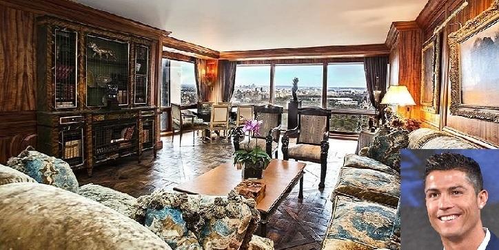 O novo apartamento de Cristiano Ronaldo