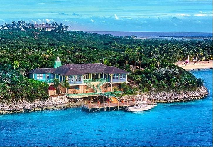 Conheça a ilha privada do mágico David Copperfield