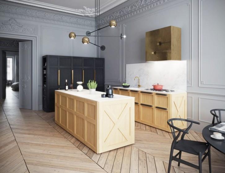 Um apartamento em Paris By Art Buro