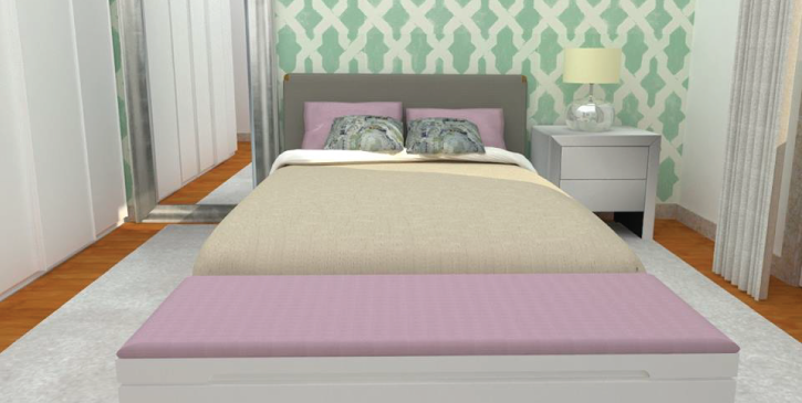 Um projecto para um quarto de uma adolescente