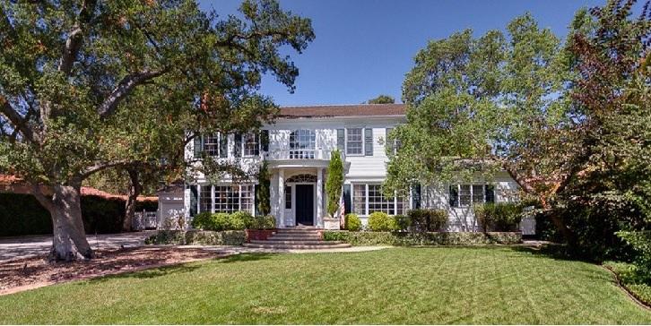 A casa onde vivia o ator Vince Vaughn